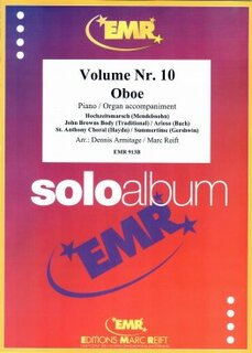 Solo Album Vol. 10  (Oboe)