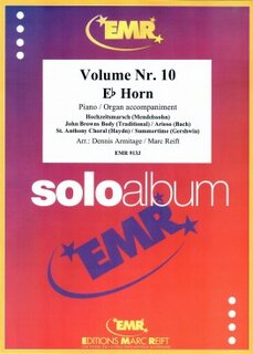 Solo Album Vol. 10  (Horn in Es)