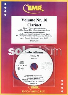 Solo Album Vol. 10 + CD  (Klarinette)