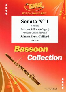 Sonata N° 1 in A minor (Fagott)