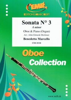 Sonata N° 3 in A minor (Oboe)