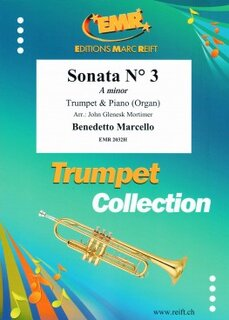Sonata N° 3 in A minor (Trompete)
