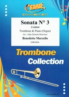 Sonata N� 3 in A minor (Posaune)
