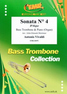 Sonata N� 4 in Bb major (Posaune)
