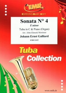 Sonata N° 4 in E minor (Tuba)