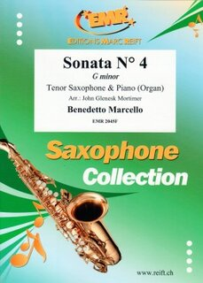 Sonata N° 4 in G minor (Tenor Saxophone)
