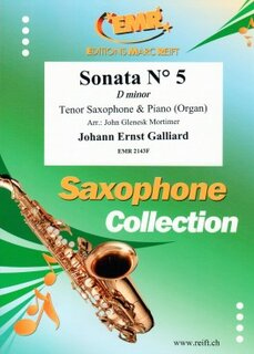 Sonata N° 5 in D minor (Tenor Saxophone)