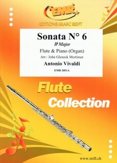 Sonata N° 6 in Bb major (Flöte)