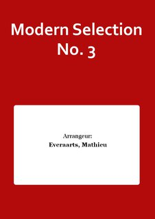 Modern Selection No. 3