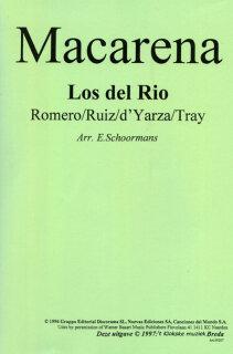 Macarena Noten Latin Los Del Rio Rafael Ruiz Perdigones