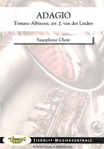 Adagio, saxophone choir