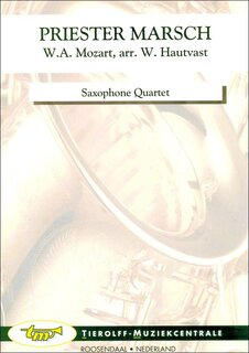 Priester March, saxophone quartet