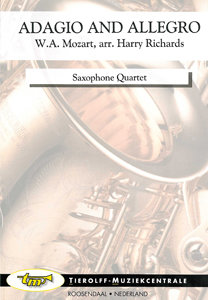 Adagio and Allegro, saxophone quartet