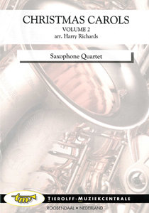 Christmas Carols, Volume 2 saxophone quartet