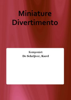 Miniature Divertimento