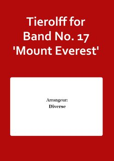 Tierolff for Band No. 17 Mount Everest