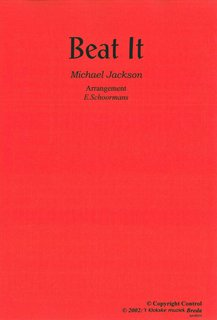 Beat It - Partitur+Stimmen