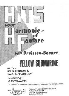 Yellow Submarine - Partitur+Stimmen