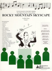 Rocky Mountain Skyscape - Partitur+Stimmen