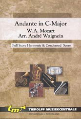 Andante In C Major, K.V. 315 - Partitur+Stimmen
