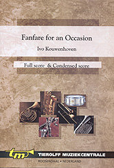 Fanfare For An Occasion - Partitur