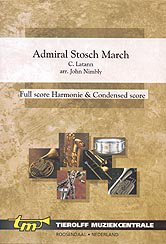 Admiral Stosch March - Partitur