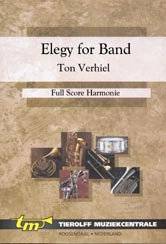 Elegy For Band - Partitur