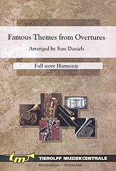 Famous Themes from Overtures - Partitur