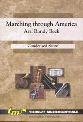 Marching Through America - Partitur