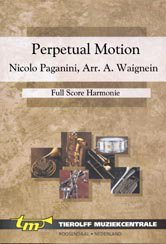 Perpetual Motion - concert band - Partitur