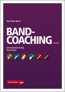 Band Coaching Band 2 f�r Blasorchester: Intonationstraining (1./2. Tuba in C - Bassschl�ssel)