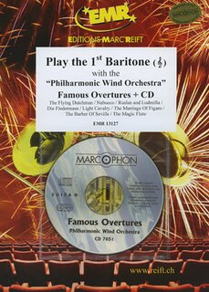 Play the 1st Baritone - Famous Overtures + CD