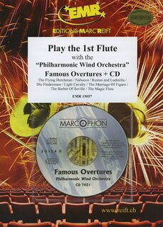 Play the 1st Flute - Famous Overtures + CD
