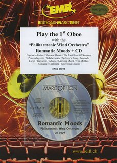 Play the 1st Oboe - Romantic Moods + CD