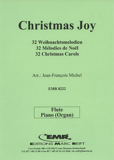 32 Christmas Carols - 2 Flutes & Piano