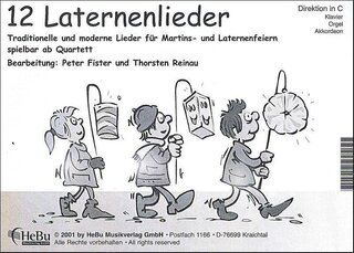 12 Laternenlieder - 2. Stimme in Eb (Altsax, Eb Horn)