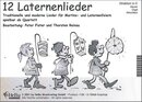12 Laternenlieder - 2. Stimme in Bb (Klarinette,...