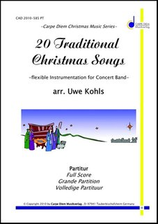 20 Traditional Christmas Songs - 4. Stimme in Eb (Baritonsaxophon, Eb-Tuba