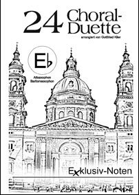 24 Choral-Duette in Eb
