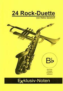 24 Rock-Duette in Bb (tiefe Lage)