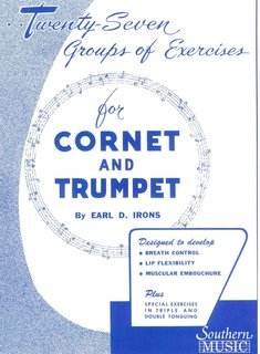 27 Groups of Exercises  for Cornet and trumpet