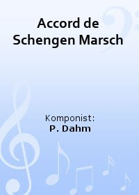 Accord de Schengen Marsch