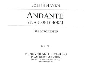 Andante (St. Antoni-Choral)
