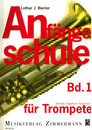 Anf�ngerschule f�r Trompete-Band 1