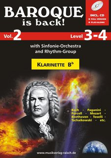 Baroque is back (Vol. 2) - Klarinette in B