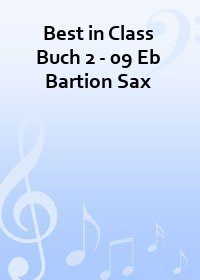 Best in Class Buch 2 - 09 Eb Bartion Sax