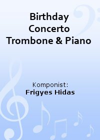 Birthday Concerto Trombone & Piano