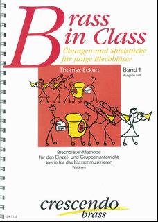 Brass in Class Band 1 - Ausgabe in F (Waldhorn)