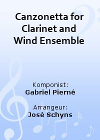 Canzonetta for Clarinet and Wind Ensemble