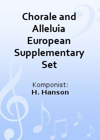 Chorale and Alleluia European Supplementary Set